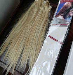 Volumul de păr complet pe fire de păr
