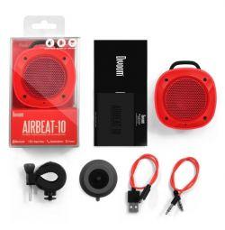 Divoom Airbeat-10 Portable Bluetooth Speaker roșu