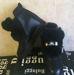 Winter boots Chanel