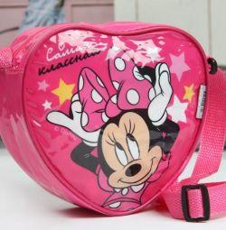 Geantă Minnie Mouse 18 x 16 cm