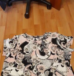 3 μπλουζάκια μεγέθους 60 -62