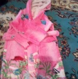 Продам халат махровий дитячий