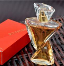 Parfumat, deci febra ei