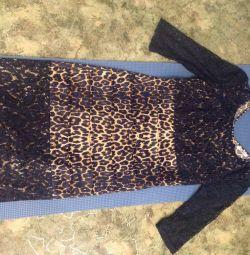 Chic φόρεμα με ζώνη
