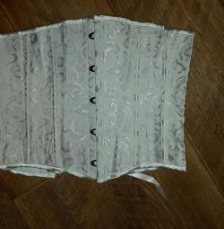 Corset with thongs new, river 42, exchange
