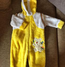 Peluş Çocuk Takım Elbise. Tulum.