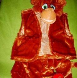 Costume pentru 4-7 ani Monkey and Monkey,
