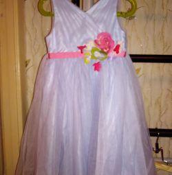 Μοντέρνο παιδικό φόρεμα 4-5 χρόνια
