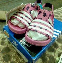 Adidas on girl