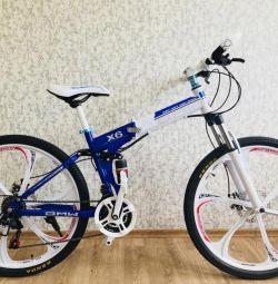 Велосипед на литих дисках