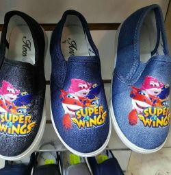 Pantofi de balet pentru copii