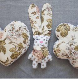 Dekoratif yastıklar, pamuk