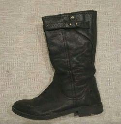Ζαρα μπότες και κρόκου 35 μέγεθος