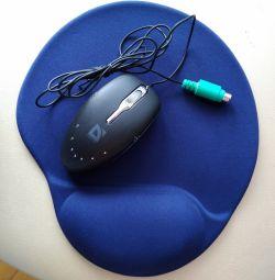 Mouse pad + Mouse ca cadou