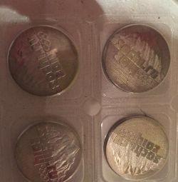 Monede din Sochi 2014