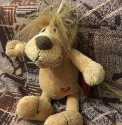 Мягкая игрушка Лев Лёва