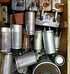 USSR capacitors