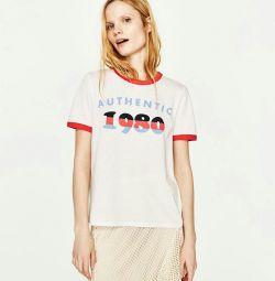 T-Shirt Νέα Ζάρα