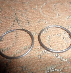 Σκουλαρίκια ασήμι 925 πρ