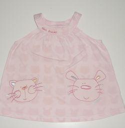 Платье детское 3-6 месяцев