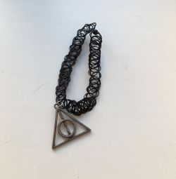 Choker Harry Potter gifts of death