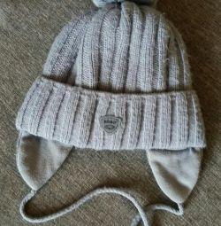 Παιδικό καπέλο χειμώνα για 2 χρόνια.