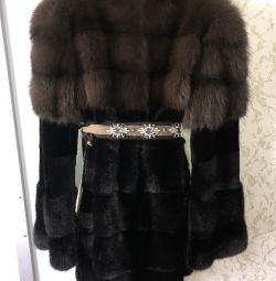Palton de blană marten / nurcă