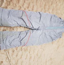 Pantaloni calzi de iarnă