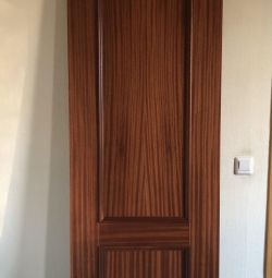 New door. Massive mahogany