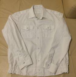 Beyaz üniforma gömlek