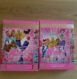 Winx! School of sorceress 12 DVD discs