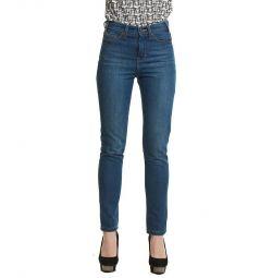 Jeans nou cu talie înaltă