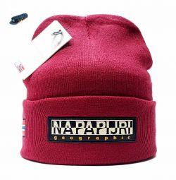 Шапка Napapijri Geographic (бордовий)
