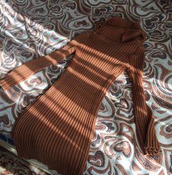 Rochie 46-48 model exclusiv tricotat manual