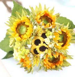 Flori artificiale, floarea-soarelui
