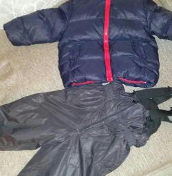 Зимний костюм baby G