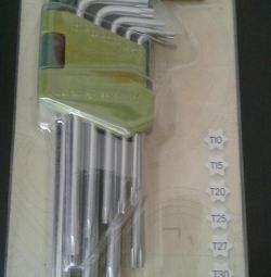 Set of keys Torx T-10- -T-50 9pcs