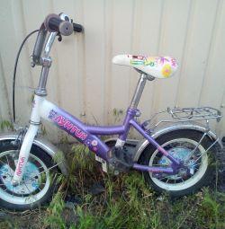 Children's bicycle Luntik
