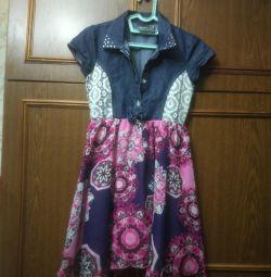 Summer combined dress