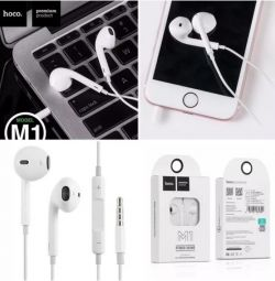 Headphones Hoco M1 Apple iPhone.