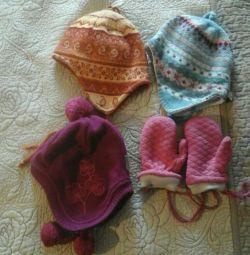 Καπέλα, γάντια