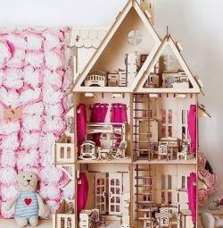 Casa cu mobilier