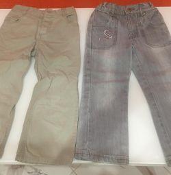 Τζιν, παντελόνι, μέγεθος 104
