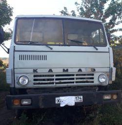 KamAZ - 55111, iyi durumda. Muayene üzerine pazarlık