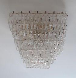 Candelabru de cristal URSS