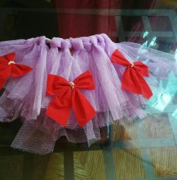 Skirt of tulle