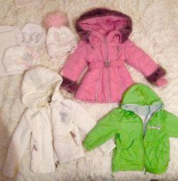 Jachete pălării pentru fete