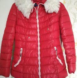 Jachetă în jos pentru femei, jachetă, r-p 44-46, înălțime 160