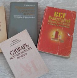 Reference books and manuals on the Russian language