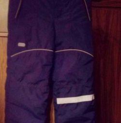 Pantaloni cu baloane de iarnă pentru copii